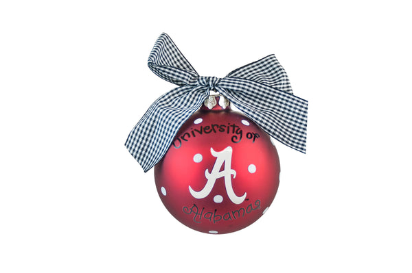 Coton Colors Dot Ornament - Alabama
