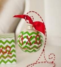 Chevron Sorority Ornament - Alpha Chi Omega