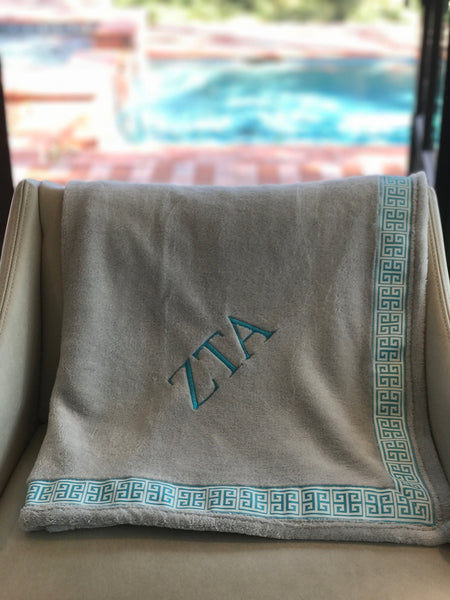 Fleece Blanket - Zeta Tau Alpha
