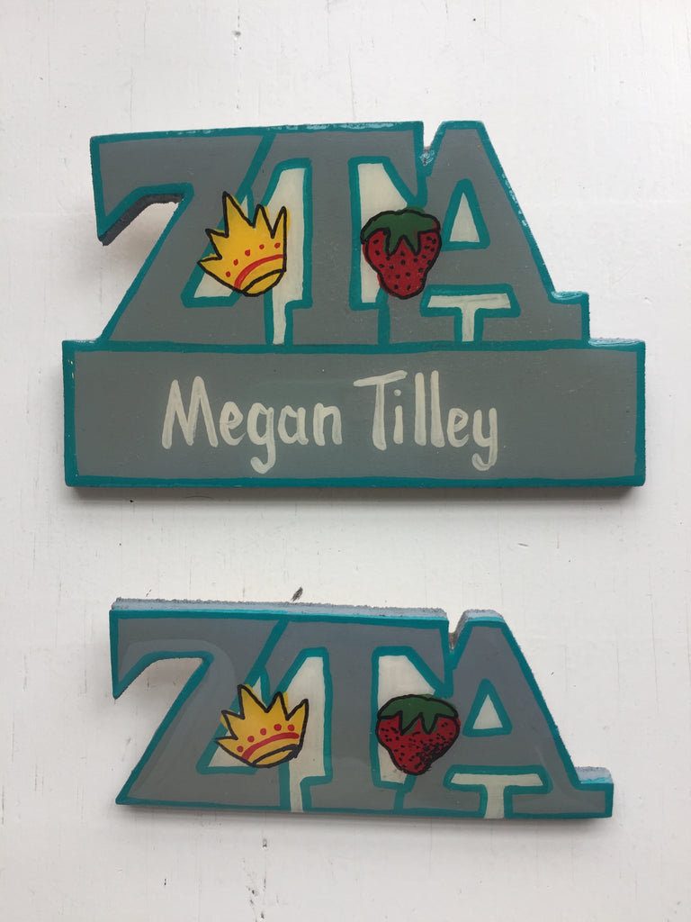 Name Tag - Zeta Tau Alpha