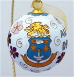 Kitty Keller Christmas Ornament - Alpha Delta Pi