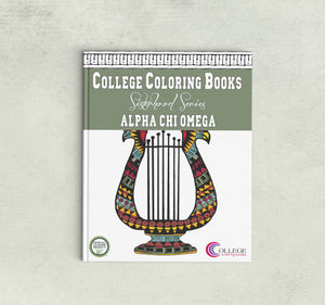 Adult Coloring Book - Alpha Chi Omega