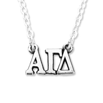 Letters Necklace - Alpha Gamma Delta
