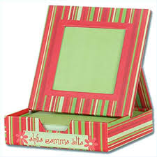 Photo Memo Box - Alpha Gamma Delta