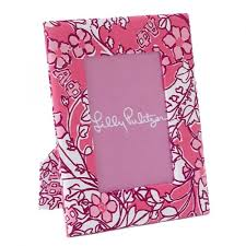 Lilly Pulitzer Picture Frame - Alpha Phi
