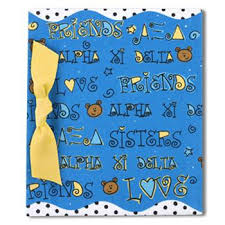 "4"" x 6"" Photo Album - Alpha Xi Delta"