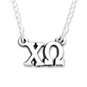 Letters Necklace - Chi Omega