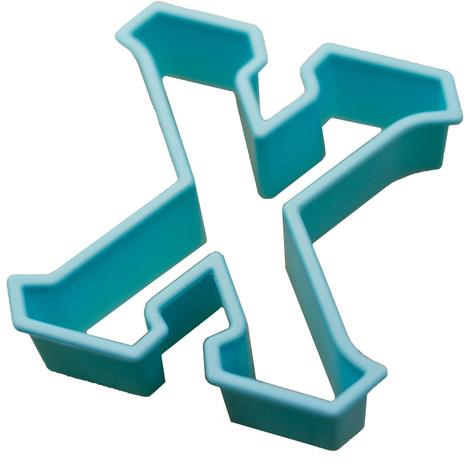 Greek Letter Cookie Cutter - Chi