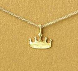 Dogeared Mascot Necklace - Crown
