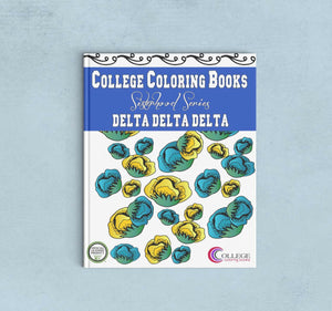 Adult Coloring Book - Delta Delta Delta