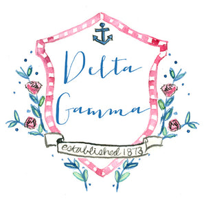 Crest Decal - Delta Gamma