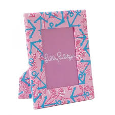 Lilly Pulitzer Picture Frame - Delta Gamma