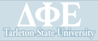 Tarleton State University Decal - Delta Phi Epsilon