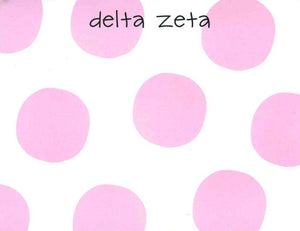 Small Polka Dot Notepad - Delta Zeta