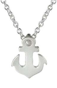 Dogeared Mascot Necklace - Anchor