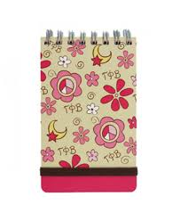 Peace Sign Memo Pad - Gamma Phi Beta