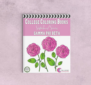 Adult Coloring Book - Gamma Phi Beta