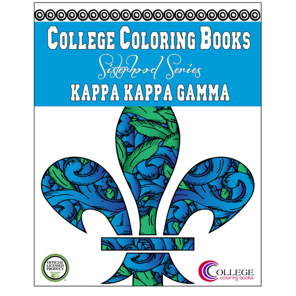 Adult Coloring Book - Kappa Kappa Gamma