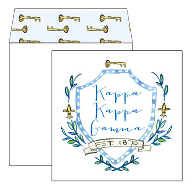 Sorority Greeting Card - Kappa Kappa Gamma