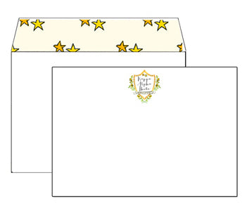 Lined Envelope Notecards - Kappa Alpha Theta