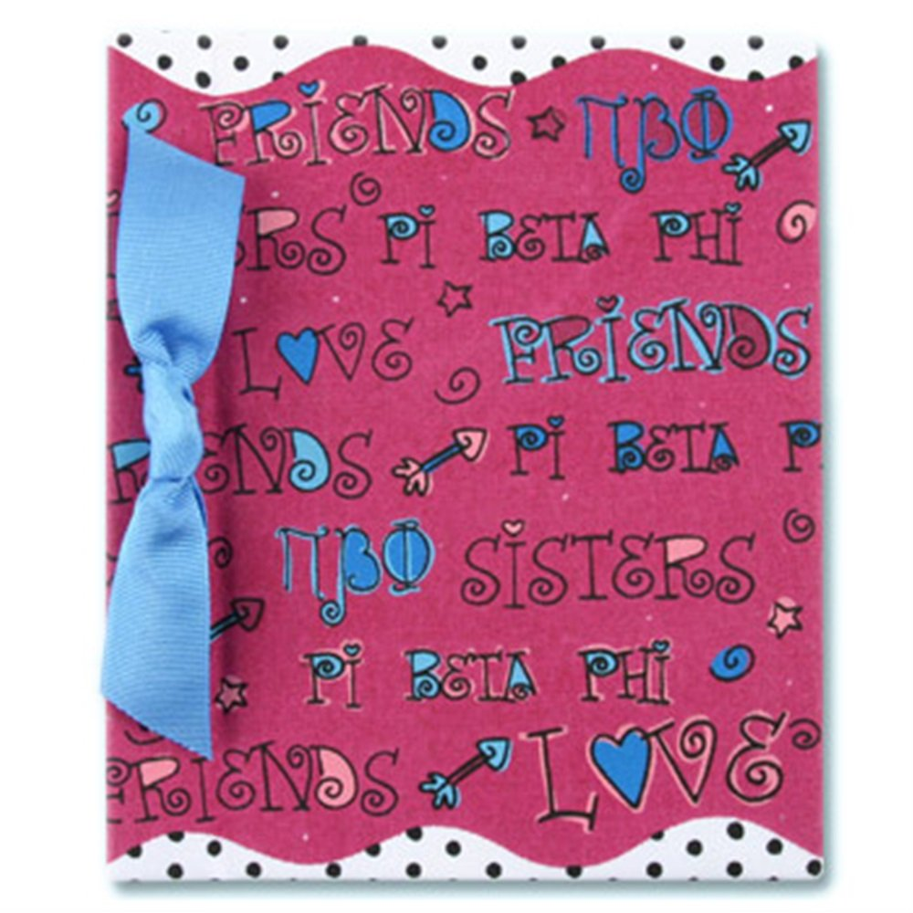 "4"" x 6"" Photo Album - Pi Beta Phi"