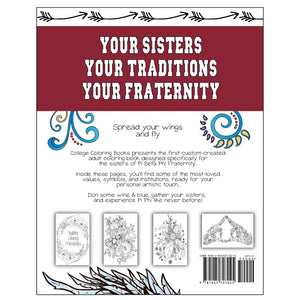 Adult Coloring Book - Pi Beta Phi