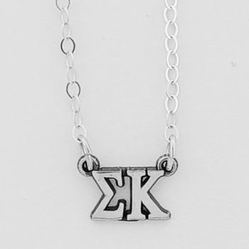 Letters Necklace - Sigma Kappa