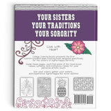 Adult Coloring Book - Sigma Kappa