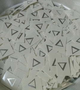 Individual Letter Tattoos - Delta