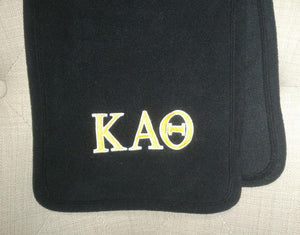 Embroidered Fleece Scarf - Kappa Alpha Theta