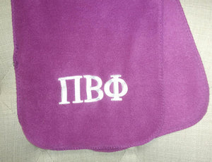 Embroidered Fleece Scarf - Pi Beta Phi