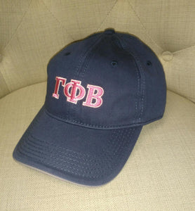 Navy Embroidered Cap - Gamma Phi Beta