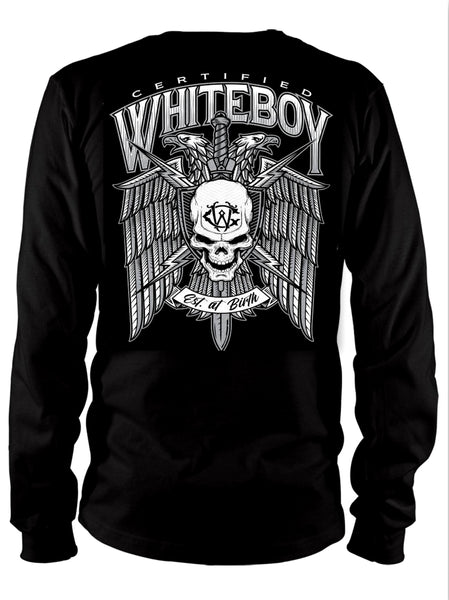 CERTIFIED WHITEBOY EAGLE LONGSLEEVE