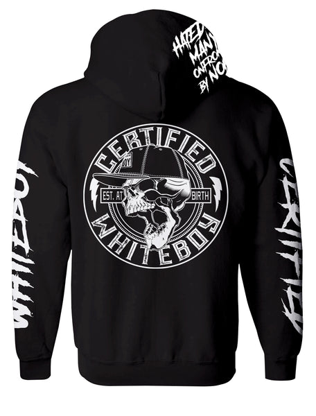 HATED BY MANY (ZIP-UP) ROCKER HOODIE