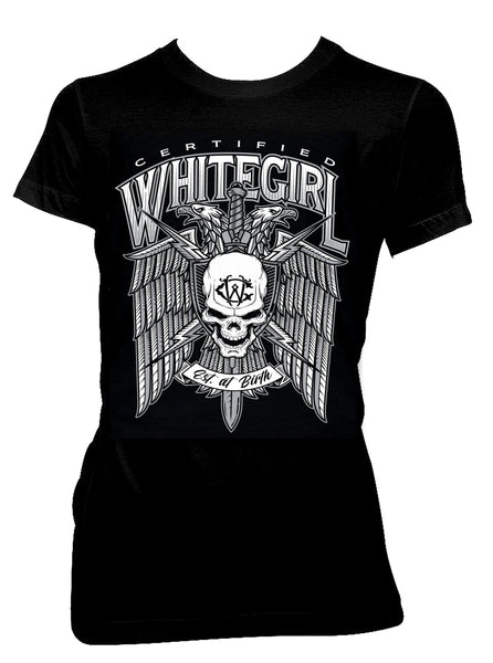 CERTIFIED WHITEGIRL EAGLE TEE