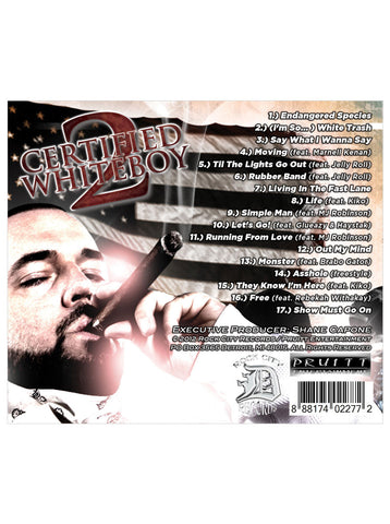 SHANE CAPONE - CERTIFIED WHITEBOY 2 (DELUXE EDITION)