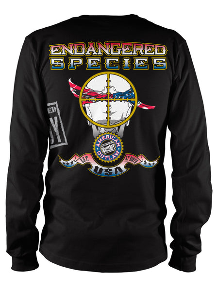 ENDANGERED SPECIES LONGSLEEVE TEE