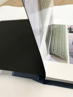 Wedding: Luxury Album with Suede or Leather Cover