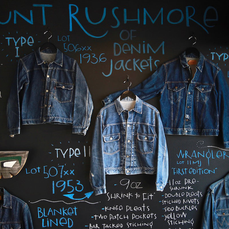 43286d76ff The Mount Rushmore of Denim Jackets – Canoe Club