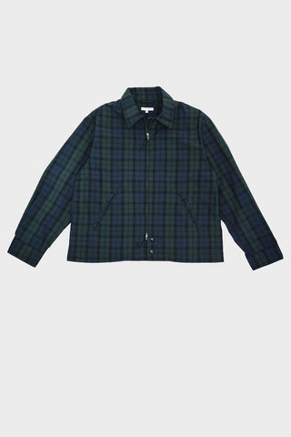 engineered garments Claigton Jacket - Blackwatch Nyco Cloth