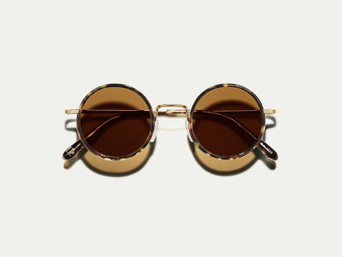 Moscot - Shikker - Tortoise/Gold/Brown Lenses - Canoe Club
