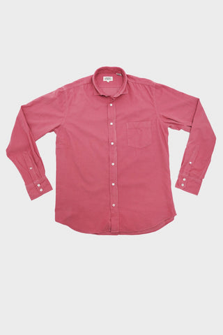 hartford clothing Paul Shirt Baby Cord - Pivoine