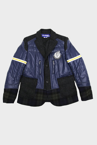 junya watanabe Campagnolo Patch Jacket - Nylon x Wool - Multi