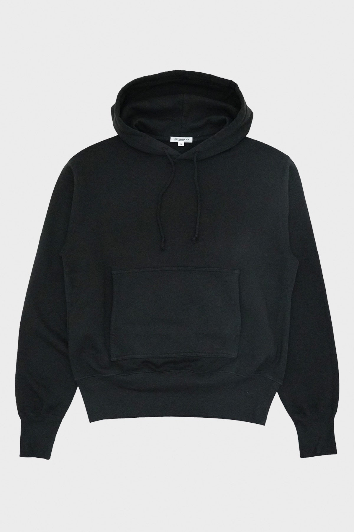 Lady White Co. - Hoodie - Faded Black - Canoe Club