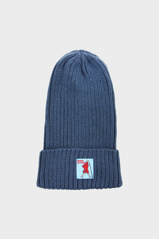 kapital 5G Cotton Knit Cap - Blue