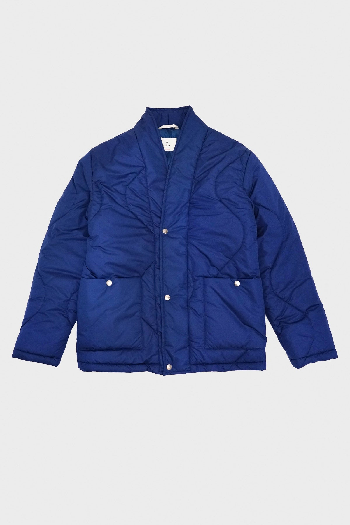 La Paz - Barbosa Padded Jacket - Blue - Canoe Club