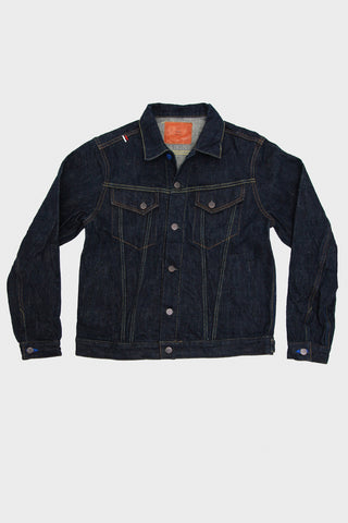 EJKT3 - Earth Series 18oz Selvedge Denim - Type III Denim Jacket