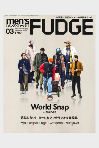 Men's FUDGE magazine - Vol. 120