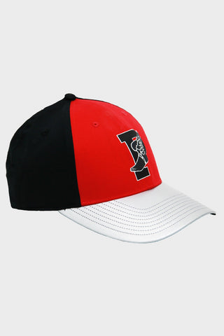 Baseline Cap - Injection Red/Silver/Black