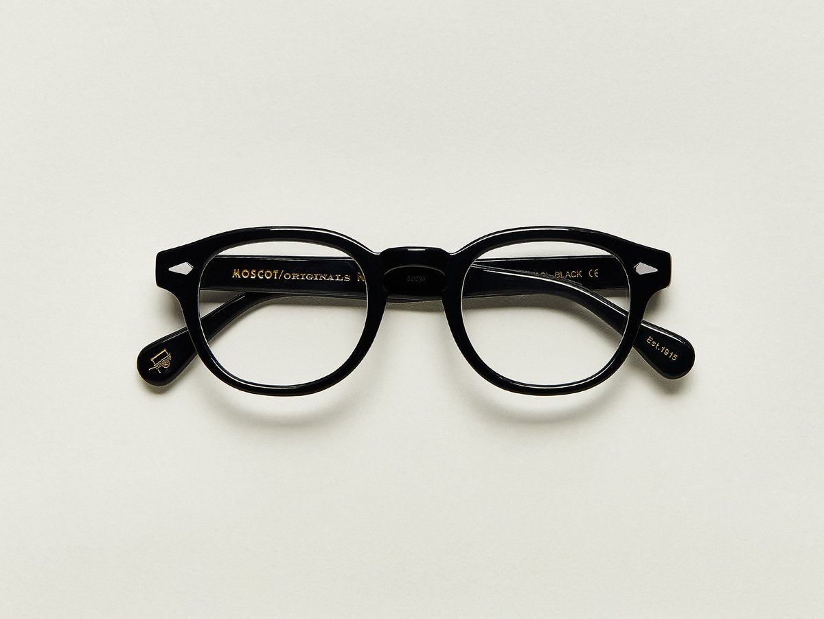 Moscot - Lemtosh - Black Optical - Canoe Club